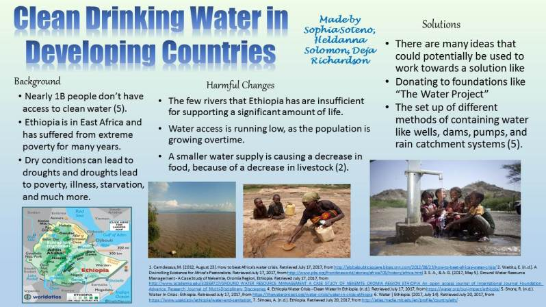 Clean Drinking Water in Developing Countries