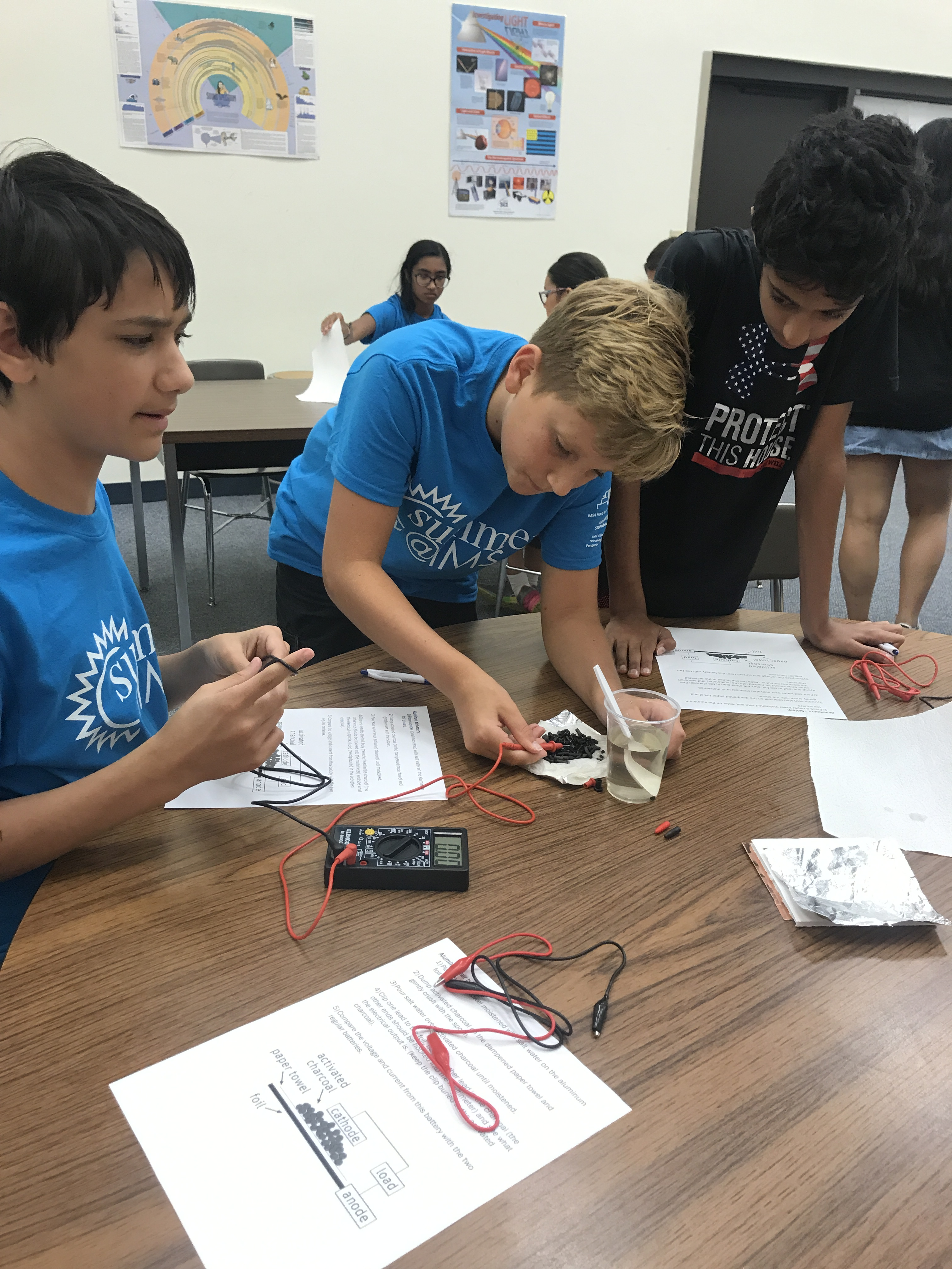 Micro STEM @ Aurora – Friday: Homemade Batteries – Outreach